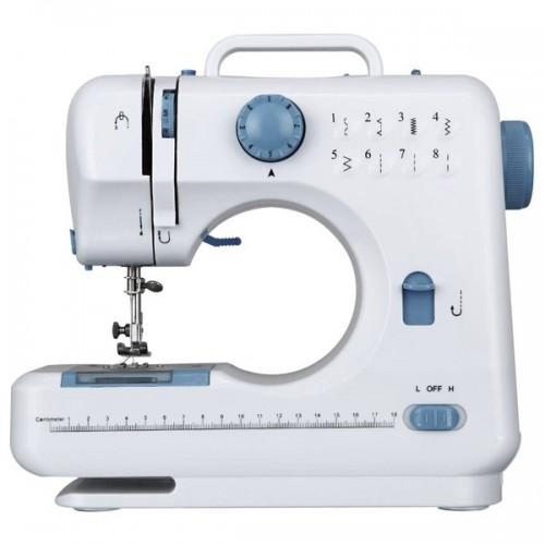 Швейна машина Ideen welt LD-01084 8 функцій біло-блакитна