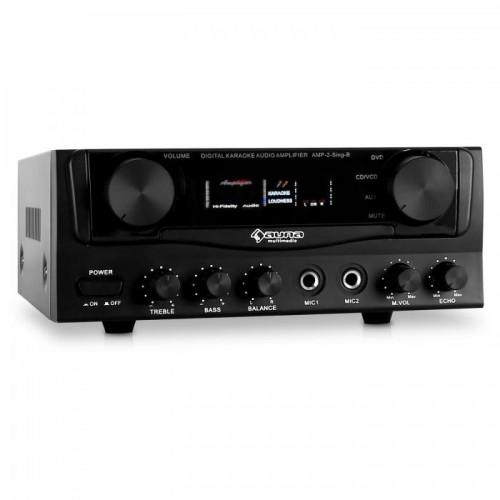 Підсилювач караоке Auna Amp-2 Compact (10003553) PA Hi-Fi