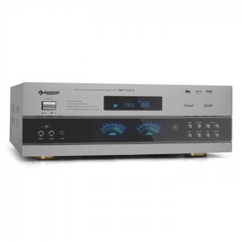 Підсилювач Hifi для домашнього кінотеатру Auna AMP-5100-S (10003729)