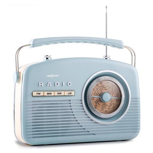 Ретро радіоприймач в стилі 50-х років ONECONCEPT NR-12 (10027421)