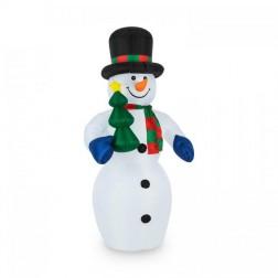 Надувна декорація сніговик OneConcept Mr. Frost (10029230)