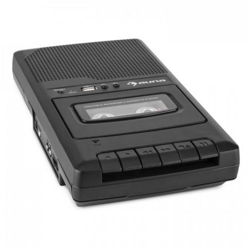 Магнітофон портативний для оцифровування касет Auna RQ-132USB (10030828)
