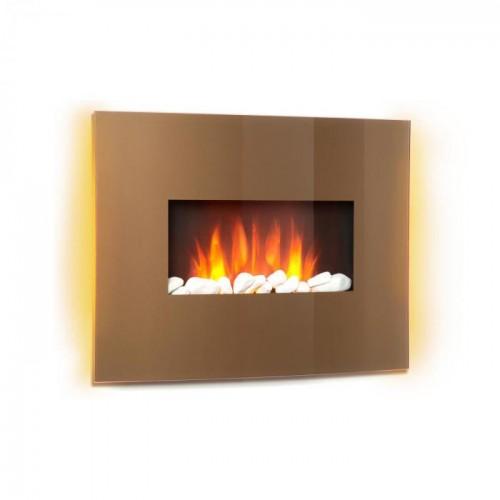 Камін електричний Klarstein Curved Copper L&F (10032999)
