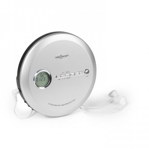 Портативний CD-програвач OneConcept CDC 100 BT (10033715)